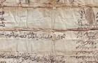 وصیت نامه  آقا تقی خلف